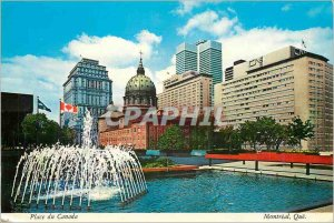 Postcard Modern Montreal What Canada Place