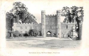 Hastings Battle Abbey Entrance Gate 1905