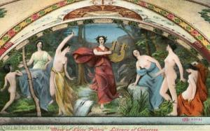 Art - Muse of Lyric Poetry, Library of Congress