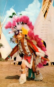 Oklahoma Indian City Eagle dance as Prsented By 9 Year Old Vincent Palmer