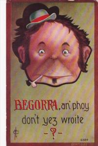 Cavally Reminder Series Begorra an'Phoy Don't Yez Wroite 1910