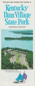 Vintage 1960s? Brochure Kentucky Dam Village State Resort Park Gilbertsville KY