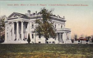 Kentucky Lexington Green Hills Home Of James B Haggin A Noted Kentucky Toroug...