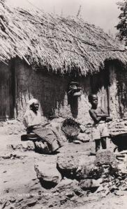 CURACAO, N.W.I., 1930s; Native Hut