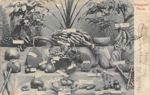 Singapore Fruits (Dragonfruits, jackfruits, bananas) 1909