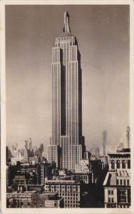 New York City The Empire State Building 1947 Real Photo