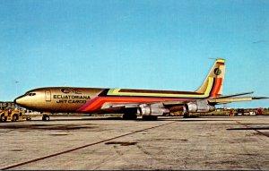 Empresaq Ecuatoriana De Avacion Boeing 707-321C