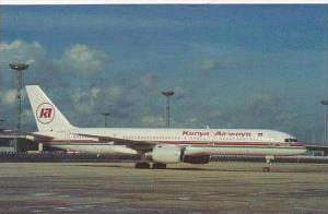 KENYA AIRWAYS BOEING B-757-23A 5Y-BGI