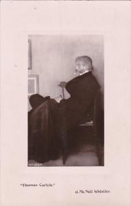 Thomas Carlyle J McNeil Whistler Real Photo 1914