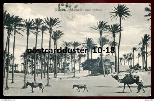 dc1753 - LIBYA Tripoli 1909 Italy Colony. Marabout in Oasis