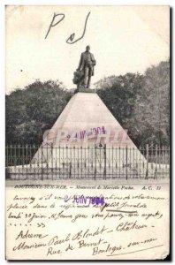 Old Postcard Boulogne Sur Mer Monument Mariette Pacha