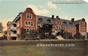 House of Good Shepherd Utica NY Unused