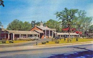 Sumter SC Travelers Motel Hotel Located Corner Broad & Washington St. Postcard