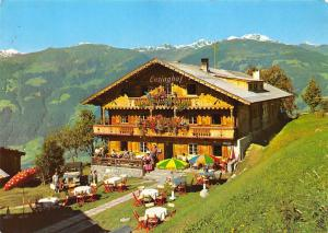 Zell im Zillertal Tirol, Alpengasthof Enzianhof Gasthaus Terrace
