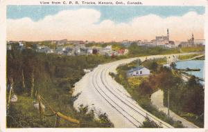 KENORA , Ontario , Canada , 00-10s ; View from C.P Railroad Tracks