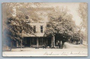 MANHEIM PA BECKER'S STORE 1906 ANTIQUE REAL PHOTO POSTCARD RPPC