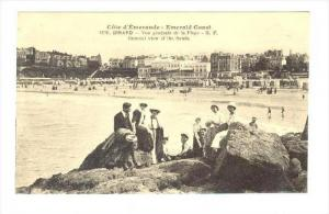 General View Of The Sands, Dinard (Ille-et-Vilaine), France, 1900-1910s