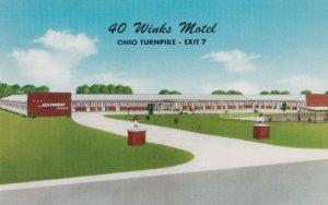 MILAN , Ohio , 1950-60s ; 40 Winks Motel