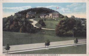 Orphan Asylum from Cobb's Hill Park NY, Rochester, New York - WB