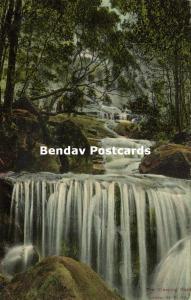 australia, LEURA, N.S.W., The Weeping Rock, Waterfall (1906)