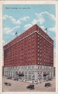 Hotel Claridge Saint Louis Missouri 1921