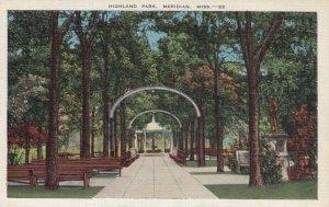 MERIDIAN, Mississippi, 1930-40s; Highland Park