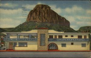 Guaymas Sonora Mexico Hotel - Linen Postcard