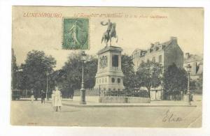 Le Monument De Guillaume II A La Place Guillaume, Luxembourg, PU-1905