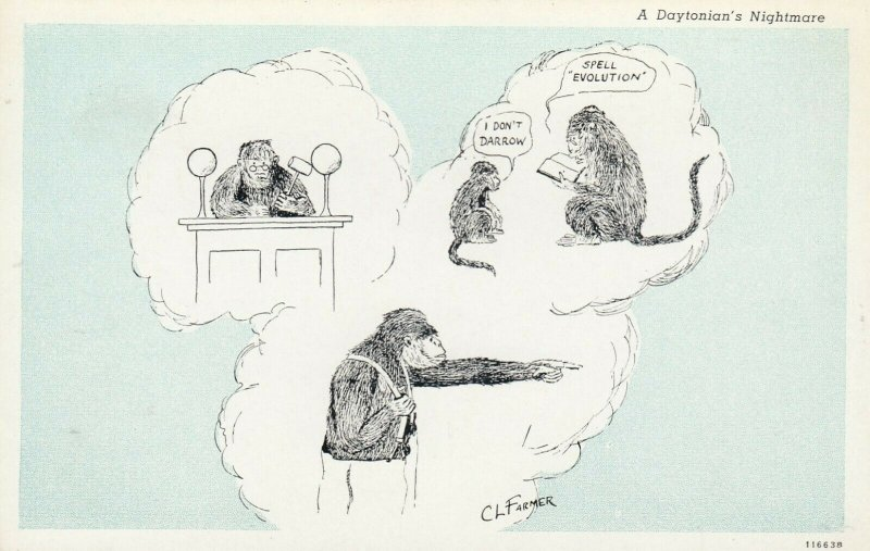 Artist ; CL FARMER ; Monkeys I Don't DarrowSpell EVOLUTION, 1910-20s