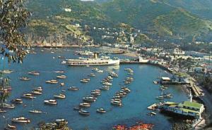 CA - Santa Catalina Island, The Bay at Avalon