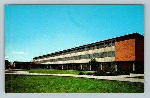 Provo UT-Utah, Brigham Young University, Family Living Center, Chrome Postcard