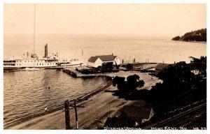 New York Port Kent , Steamer landing , RPC