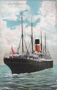 S.S.DOMINION , Dominion line Ocean Liner , PU-1911