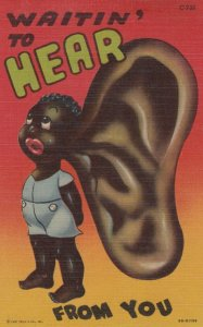 Black Americana , 1930-40s ; Waitin' to HEAR from you