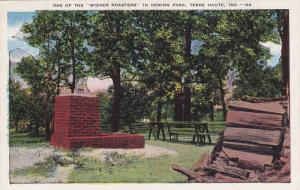 One of the Wiener Roasters' in Deming Park,  Terre Haute,  Indiana,  PU_30-40s
