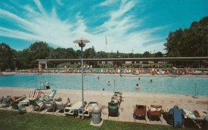 MOODUS , Connecticut, 1950-60s; Banner Lodge , Swimming Pool