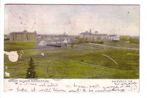 Mount Allison Institutions, Sackville New Brunswick, Warwick 1455