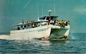 Florida Tarpon Springs Miss Milwaukee II Deep Sea Fishing Boat
