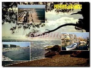 Postcard Modern Littoral Languedoc Palavas