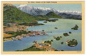 Sitka, Alaska on the Inside Passage