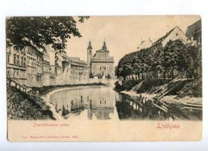 172052 Slovenia LJUBLJANA Franciskanska cerkev Vintagepostcard