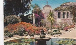 California San Juan Old Mission Capistrano  Jewel Of The Missions