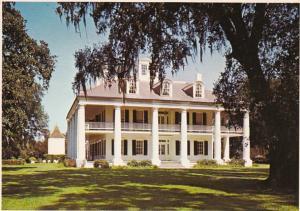 Louisiana Burnside Historic Houmas House On River Road