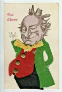 Politcal~1908 Election Choice~William Jennings Bryan Caricature~Add-On Clothes