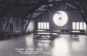 Michigan Rothbury Jack & Jill Ranch Wagon Wheel Building Ping Pong Tables Rea...