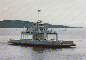 Canada Ferry Salt Spring Island Queen Victoria British Columbia