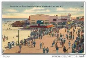 Boardwalk, Hunts Starlight Ballroom, Wildwood-By-The-Sea, New Jersey, 30-40s