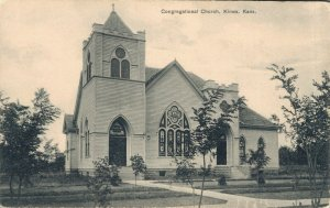 USA - Congregational Church Kiowa Kansas - 03.51