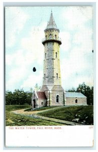 Postcard The Water Tower, Fall River MA udb G33
