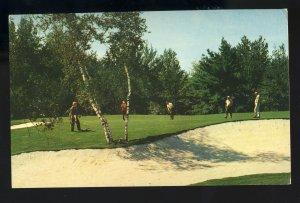 Kiamesha Lake, New York/NY Postcard, The Concord Hotel/Resort, Golf Course